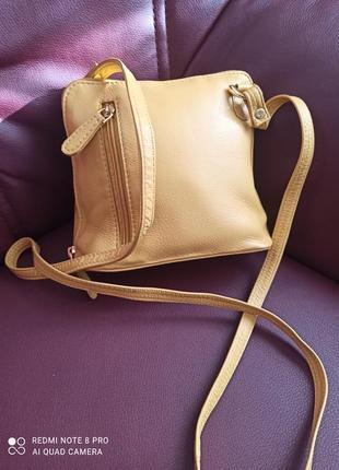 Шкіряна сумочка nika