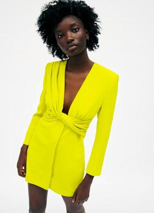 Шикарне плаття піджак від zara