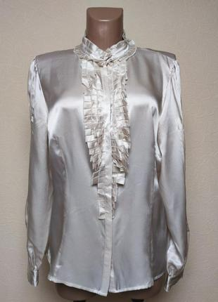 Шелковая рубашка  jasper conran /5011/