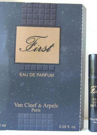 Van cleef & arpels first - edp - 1.2 мл. (spray) оригінал. вінтаж