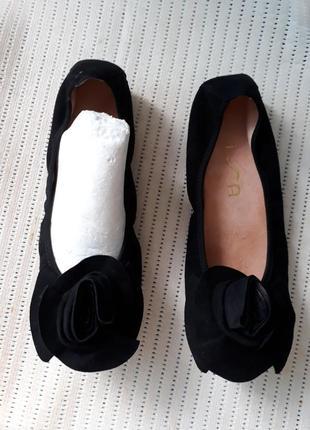 38-39 испания замшевые туфли