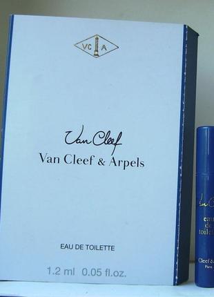 Van cleef & arpels van cleef - edt - 1.2 мл. (spray) оригінал. вінтаж
