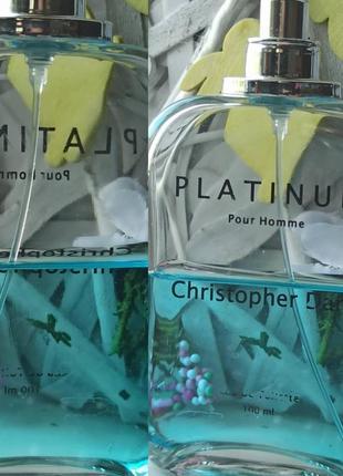 Christopher dark platinum   туалетная вода