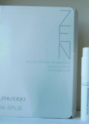 Shiseido zen eau de parfum - 1 мл. (spray) оригінал.