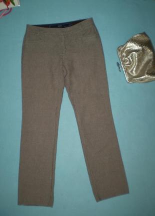 Женские льняные брюки mexx uk10 46р. m, лен с хлопком