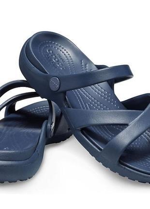 Crocs w7 w8 w10 w11 босоножки сандалии женские новые шлепки оригинал