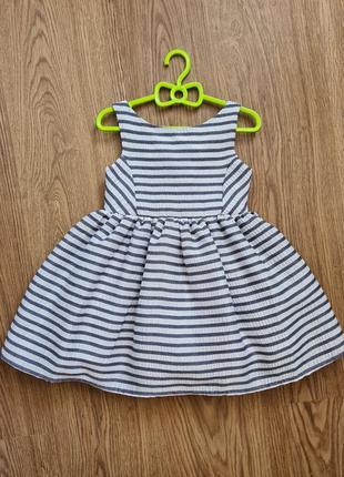 Пышное и напядное платье для девочки h&m 2-3 г 98 см