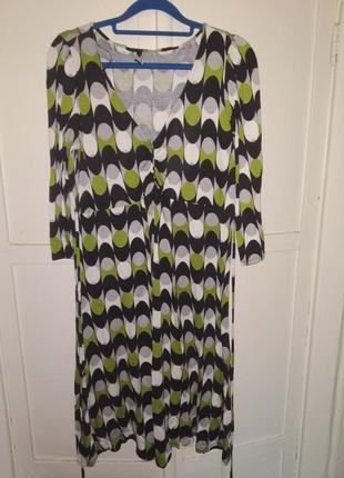 Натуральное платье в стиле 70-х годов