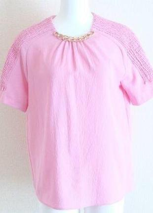 Розовая блуза от zara
