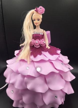 Детский светильник кукла