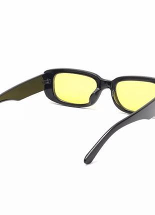 Солнцезащитные очки с жёлтыми линзами2 фото