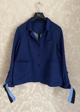 Golden goose оригинал италия синий пиджак жакет джерси