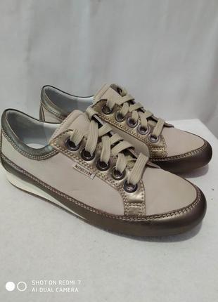 Кожаные туфли, мокасины, кроссовки mephisto