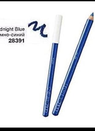 Олівець контурний для очей avon color trend  темно-синій