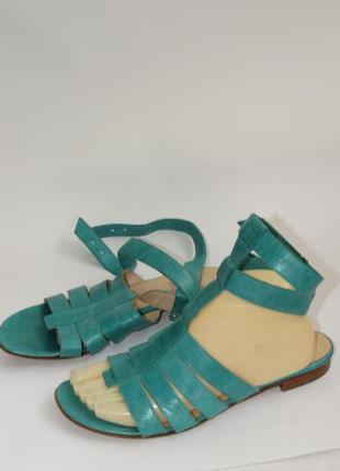 Marccain кожаные женские босоножки италия  l21