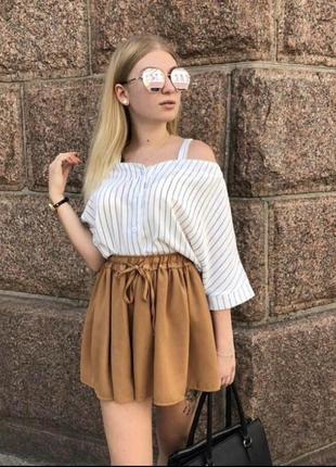 Костюм (шорты +блузка)