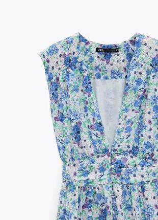 Zara летнее платье_новое с бирками
