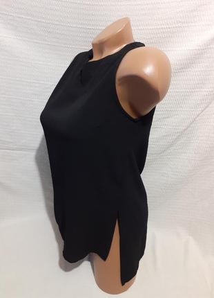 Удлиненная блуза блузка длинная сзади молния прямая летняя лето стильная шикарная