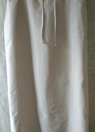 Миди - юбка прямая, сафари, карго, базовый бежевый цвет. gina laura.