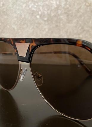 Солнцезащитные очки asos леопард принт