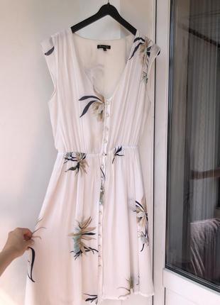 Шелковое платье massimo dutti xs s оригинал по колего сарафан