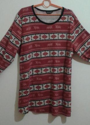 Реально тепленькая туничка(платье)