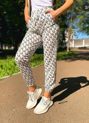 Летние штаны, джогеры, спортивные штаны