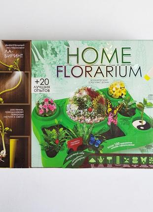 Home florarium набор для выращивания растений.