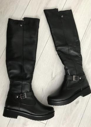 Ботфорты, сапоги, длинные сапоги, чёрные ботфорты зима, ботфорты чулки, зима.