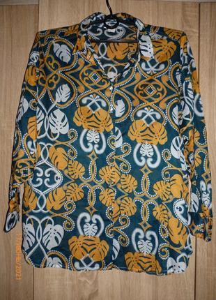 Рубашка х\б h&m 56-58 р.