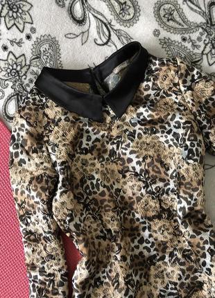 Хит продаж! леопардовое платье всего за 99 грн
