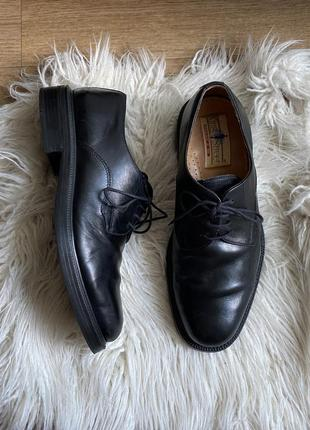 Натур. кожаные туфли дерби оксфорды