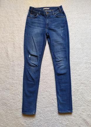Распродажа джинсы с высокой посадкой levis размер xs/s