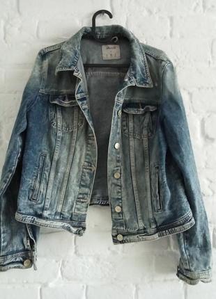 Жакет куртка джинсовая