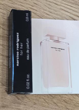 Narciso rodriguez for her парфюмированная вода