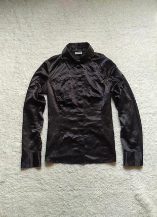 Распродажа атласная рубашка street one размер м
