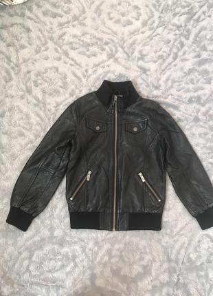 Куртка кожа lindex