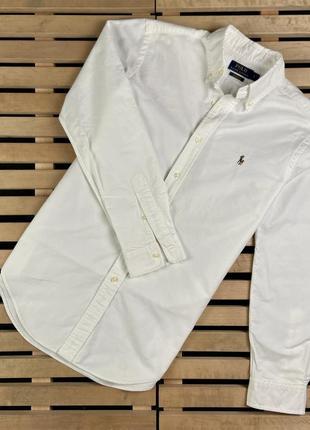 Шикарная мужская рубашка polo ralph lauren размер s