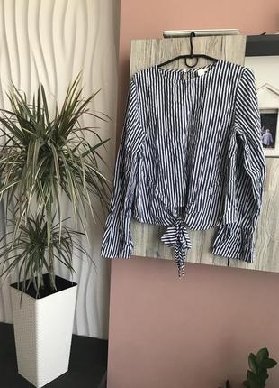Блузка, сорочка h&m розмір м- хл