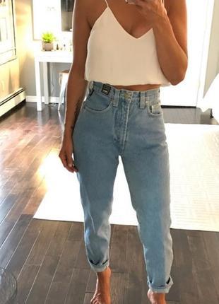 Mom jeans джинсы мом versace оригинал