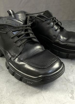 Туфли эксклюзивные, крепкие pod, кожаные