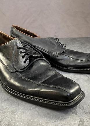 Туфли lloyd marius, кожаные, черные