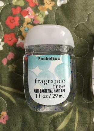Антибактериальный гель для рук bath&body works без запаха