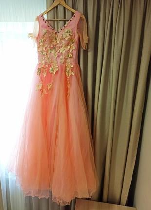 Плаття платье в пол сукня довга вечірня