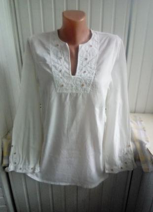 Тоненькая коттоновая блуза