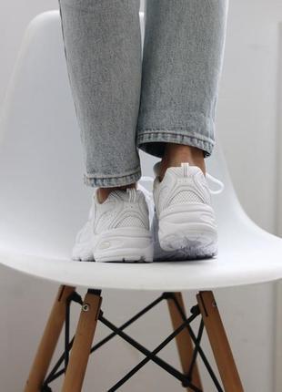 ❤ женские белые текстильные  кроссовки  new balance 530 white ❤10 фото