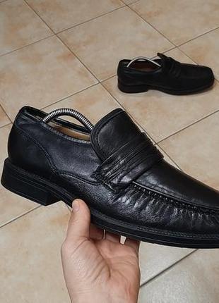Кожаные ботинки,туфли,лоферы  clarks (кларкс)