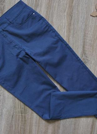 Лёгкие стрейчевые джинсы чинос/ капри eur 38