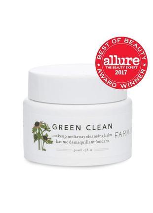 Гидрофильный бальзам для умывания farmacy green clean (50 мл)