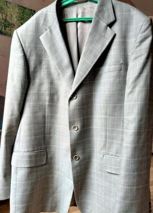 Пиджак на солидного дядю 56 размер